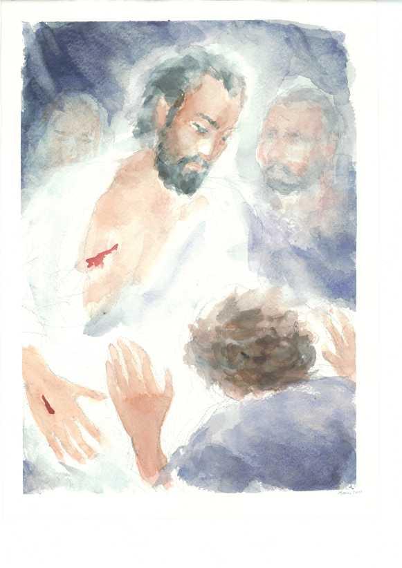 """""""Mio Signore e mio Dio!"""" di Maria Cavazzini Fortini,      maggio 2012"""