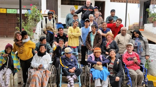 """La comunità """"Sembrando Esperanza"""", luglio 2016"""