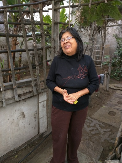 "Consuelo, responsabile di un ""Comedor parroquial"", luglio 2016"