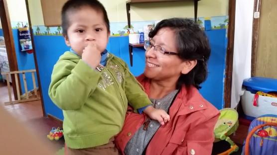Sorella Miriam e Francisco, trovato in stato di abbandono totale 2 anni fa, luglio 2016