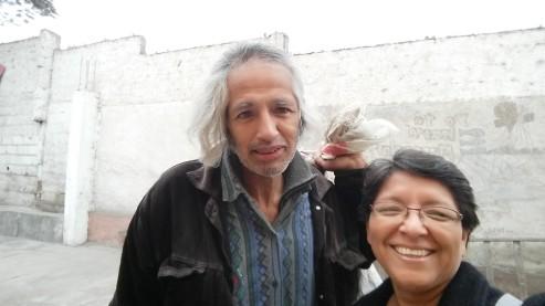 Luis Alberto e sorella Miriam, luglio 2016