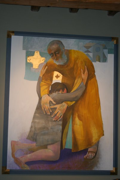 Il padre misericordioso, Arcabas
