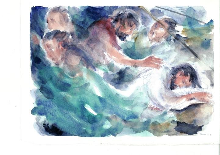 Gesù dorme nella tempesta