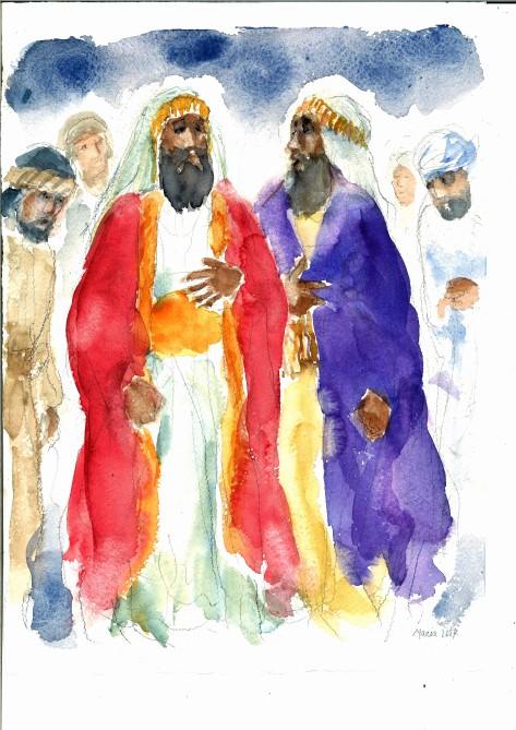 Gli scribi e i farisei