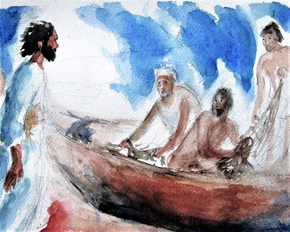 La chiamata dei primi discepoli